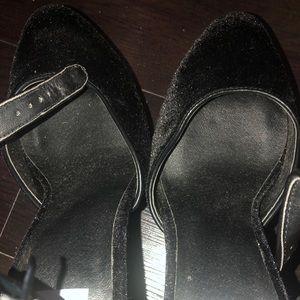 Dolce Vita Shoes - Dolce Vita Black suede block heels